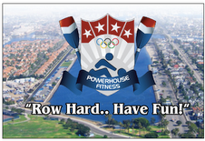 Powerhouse olympic logo flyer